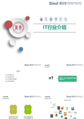 IT行业介绍及发展前景.pptx