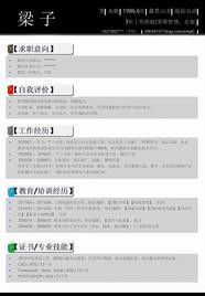 一页式个人简历PPT模板.ppt