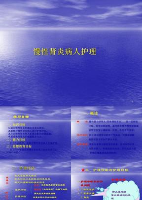 慢性肾小球肾炎病人的护理PPT演示课件.ppt