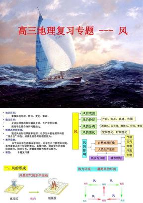 高三地理专题复习--风.ppt