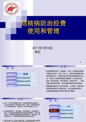 结核病防治经费使用和管理结核病骨干培训班(完整版).ppt