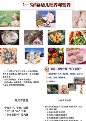 1—3岁婴幼儿喂养与营养ppt课件.ppt