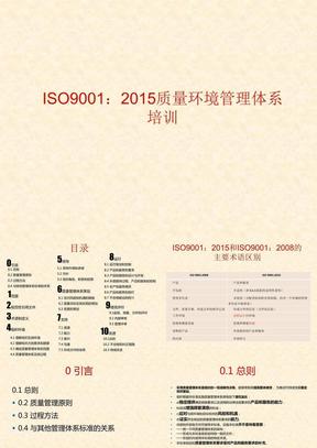 ISO9001-2015质量管理体系培训.ppt