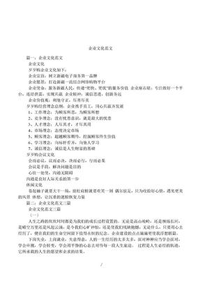 企业文化范文.doc