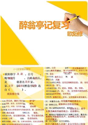 醉翁亭记 复习 2012.ppt