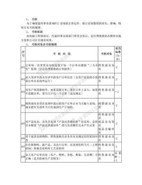 ERP系统实施考核细则.doc