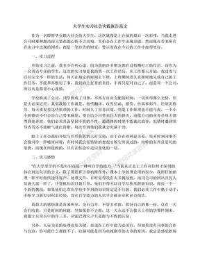 大学生实习社会实践报告范文.docx