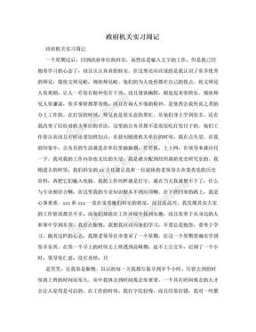 政府机关实习周记.doc