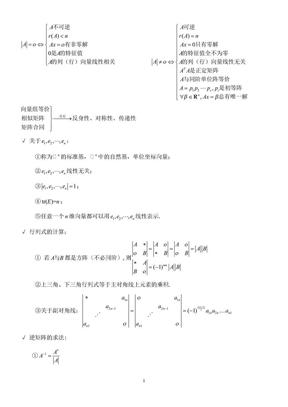 线性代数复习总结.doc