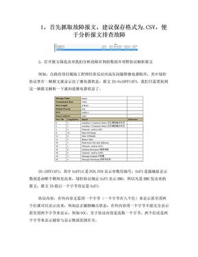 解读CAN报文方法.doc