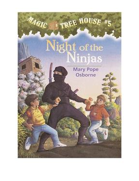 Magic Tree House 5, Night of the Ninjas.pdf