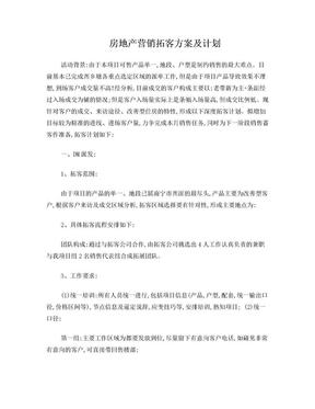 营销推广执行计划6.doc