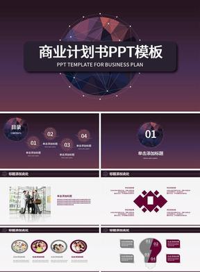 红棕色商务通用商业个性计划书PPT模板.pptx