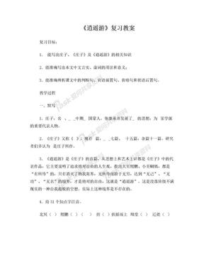 逍遥游复习教案.doc