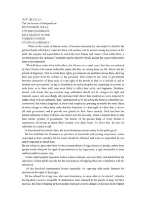 美国《独立宣言》中英文对照.doc
