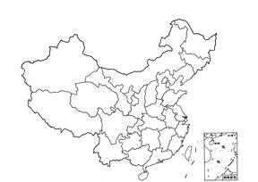 中国地图与世界地图(空白).doc
