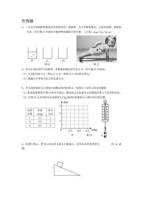物理(作图题、计算题、问答题).doc