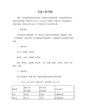 2015青蓝工程考核方案.doc