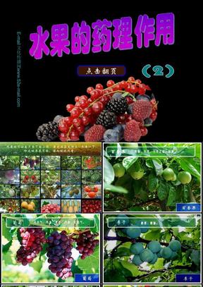水果的药理作用(2).ppt