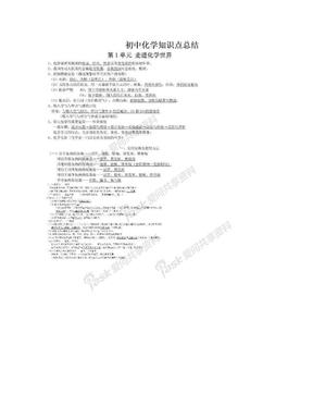 初中化学知识点总结.doc