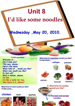 unit8_I'd_like_some_noodles新目标.ppt
