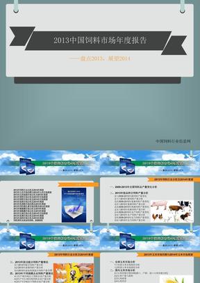 2013中国饲料市场年度报告.ppt