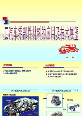 汽车零部件材料的应用及技术展望.ppt