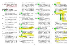 最新二级建造师法规重点总结.doc