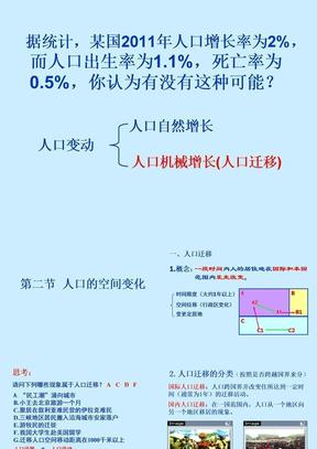 1-2人口的空间变化.ppt
