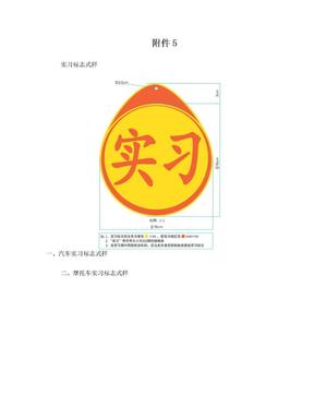 实习标志式样(打印版).doc