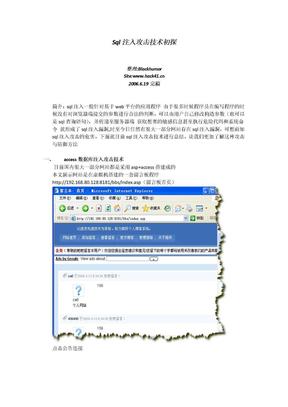 数据库注入.doc