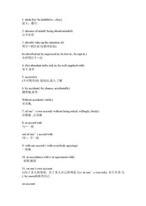 考研英语词组.doc
