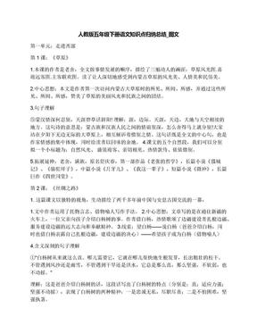 人教版五年级下册语文知识点归纳总结_图文.docx