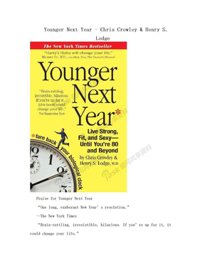 Younger Next Year - Chris Crowley & Henry S. Lodge.doc
