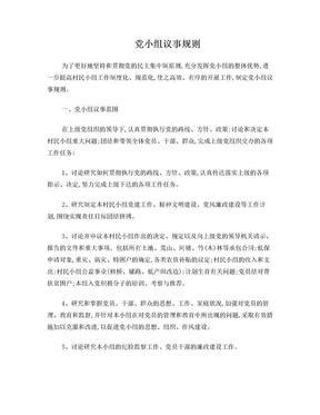 党小组议事规则.doc