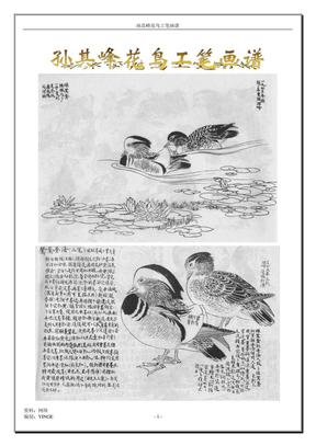 孙其峰禽鸟工笔画谱.pdf