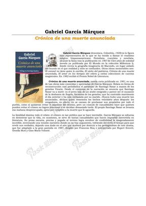 一桩事先张扬的谋杀案 Crónica de una muerte anunciada.pdf