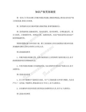 知识产权奖惩制度.doc
