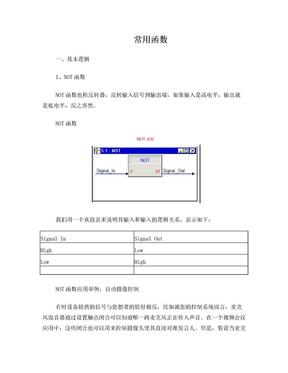 快思聪编程常用函数.doc