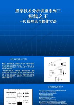短线之王-K 线理论与操作方法.ppt
