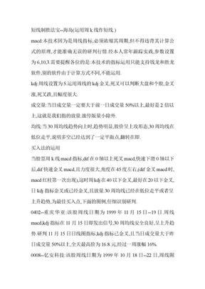 短线制胜法宝.doc