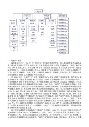 海尔公司组织结构图.doc