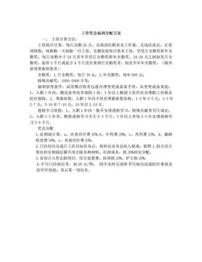 工资奖金分配方案.doc