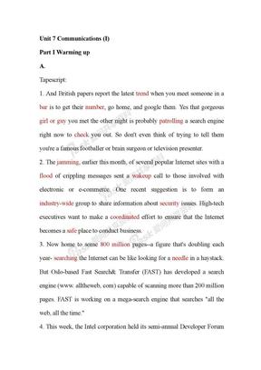 step_by_step3000第三册unit7答案及原文.doc