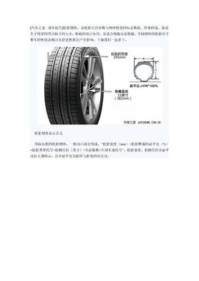 轮胎规格.docx