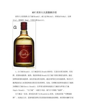 MDT世界六大蒸馏酒介绍.doc