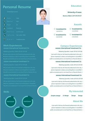 中英文简历模板-最新应届生求职中英文简历模板-02号推荐简历作品.docx
