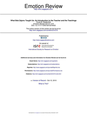What Bob Zajonc Taught Us An Introduction to the Teacher and the.pdf