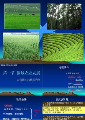 高三复习农业区域生产.ppt