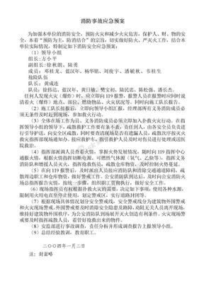 消防事故应急预案.doc